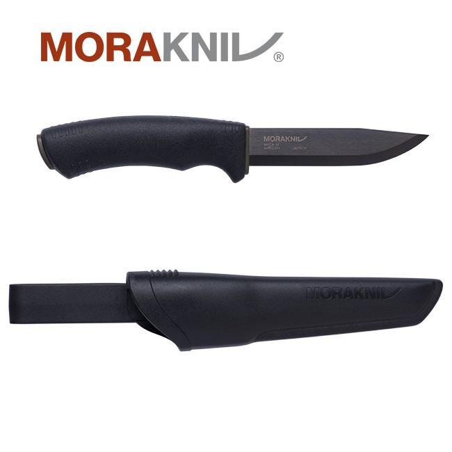 即納送料無料 Morakniv Bushcraft Black ハイクオリティ ブッシュクラフト モーラナイフ ブラック