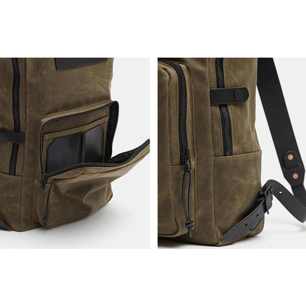 CRUD Nova Backpack Black クルード ノヴァ バックパック ブラック|upi-outdoorproducts|05