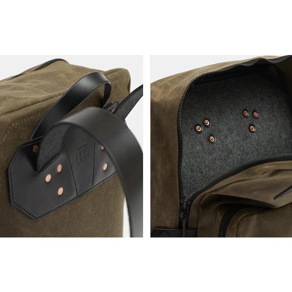 CRUD Nova Backpack Black クルード ノヴァ バックパック ブラック|upi-outdoorproducts|06