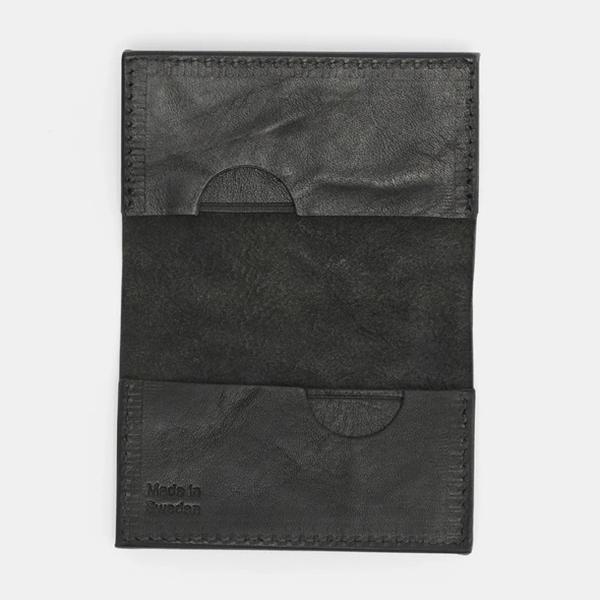 CRUD Nordre Card case Wax Black クルード ノルデ カードケース ワックス ブラック|upi-outdoorproducts|02
