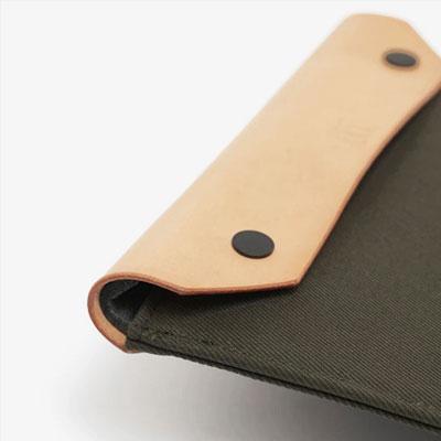CRUD Ottem Laptop-tablet case Natural クルード オテム ラップトップケース タブレットケース ナチュラル|upi-outdoorproducts|03