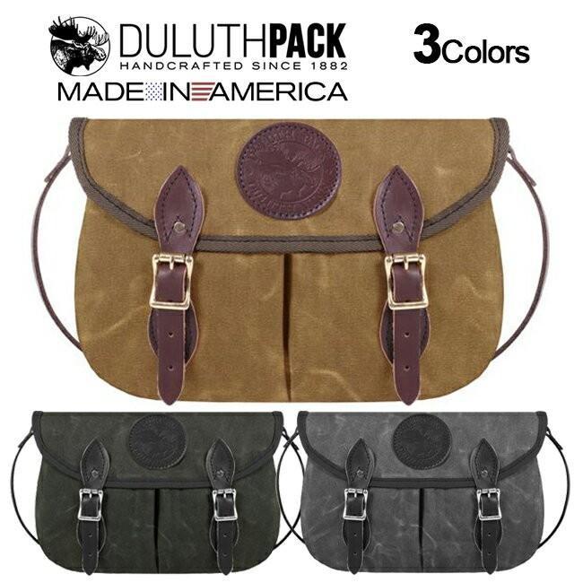 Duluth Pack Medium Double Shell Purse WAX ダルースパック ミディアム ダブルシェル パース ワックス|upi-outdoorproducts