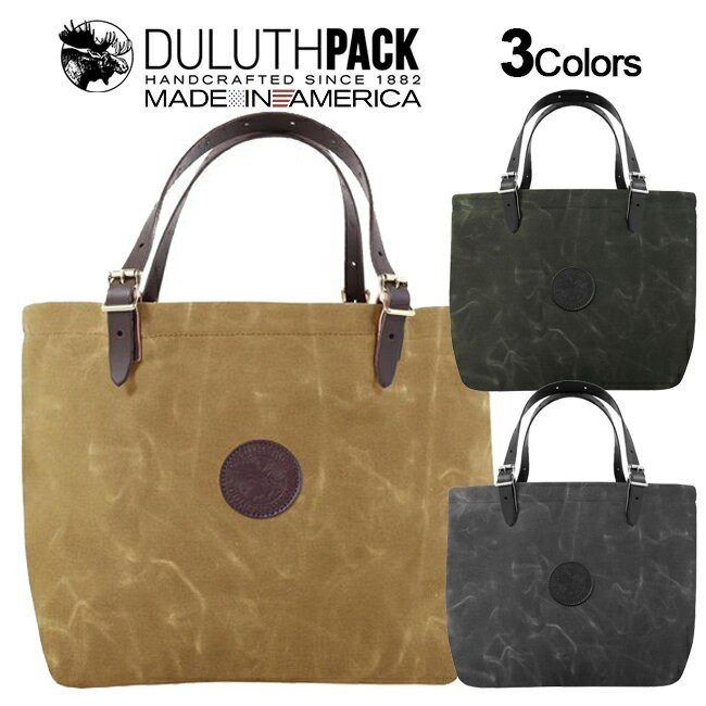 Duluth Pack Market Tote WAX ダルースパック マーケット トート ワックス|upi-outdoorproducts