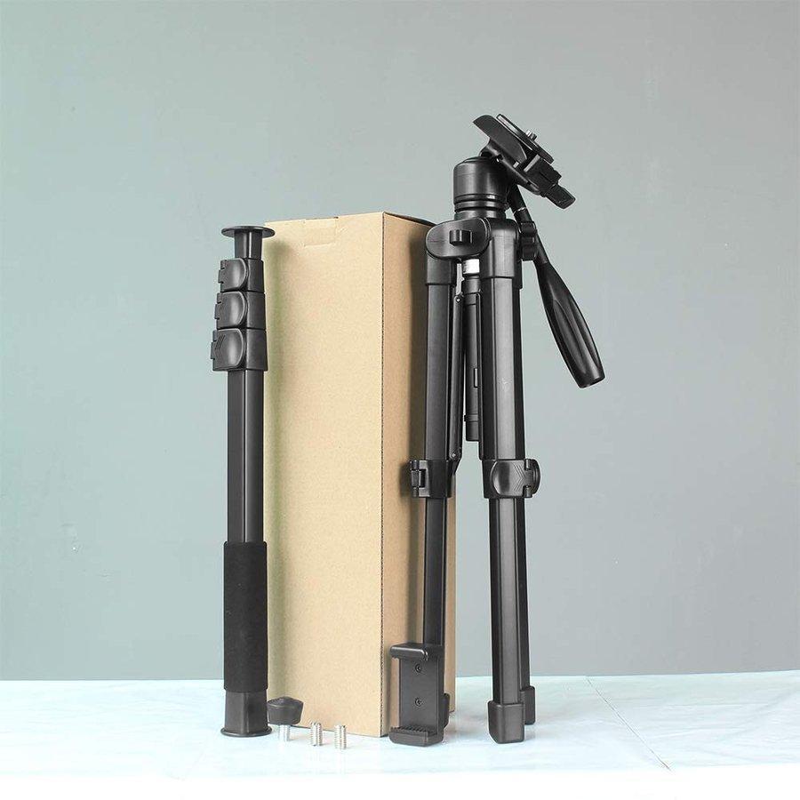 アウトレット 自立 一脚 + 三脚 1台3役 可変セット 軽量 コンパクト スマホ用 撮影 ホルダー 付属 一眼レフ ビデオカメラ 自撮り|uple|05