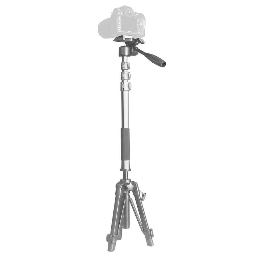 アウトレット 自立 一脚 + 三脚 1台3役 可変セット 軽量 コンパクト スマホ用 撮影 ホルダー 付属 一眼レフ ビデオカメラ 自撮り|uple|08