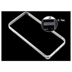 iphone5 / 5s 超薄 アルミ 削りだし バンパー ケース 0.7mm お手入れシート付き (コーヒーa)|upper-ground2|03