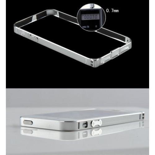 iphone5 / 5s 超薄 アルミ 削りだし バンパー ケース 0.7mm お手入れシート付き (コーヒーa)|upper-ground2|04