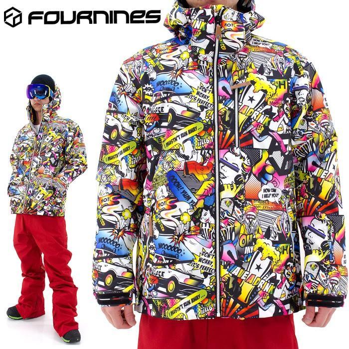 SALE スノボウェア メンズ レディース スノーボードジャケット FOURNINES スノーウェア 4N-1601