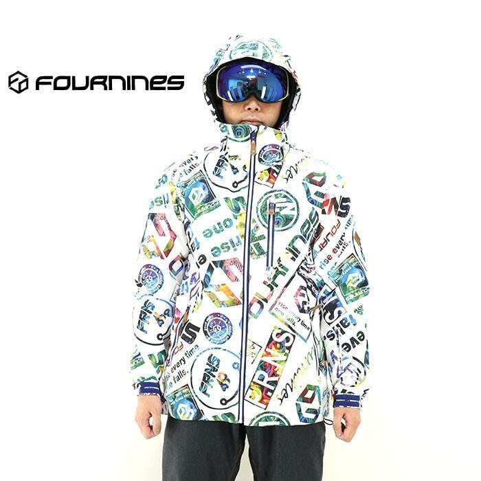 スノージャケット メンズ フォーナインズ ボードウェア スノーウェア スキーウエア 4N1901 :FOURNINES 4N 1901 RLOGO:ユーピースポーツ Yahoo!店 通販 Yahoo!ショッピング