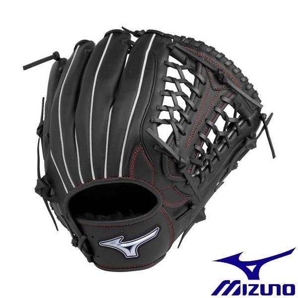 ◆◆ <ミズノ> MIZUNO ソフトボール用ファンラップef【外野手向け/サイズ14】 1AJGS20507 (09:ブラック)