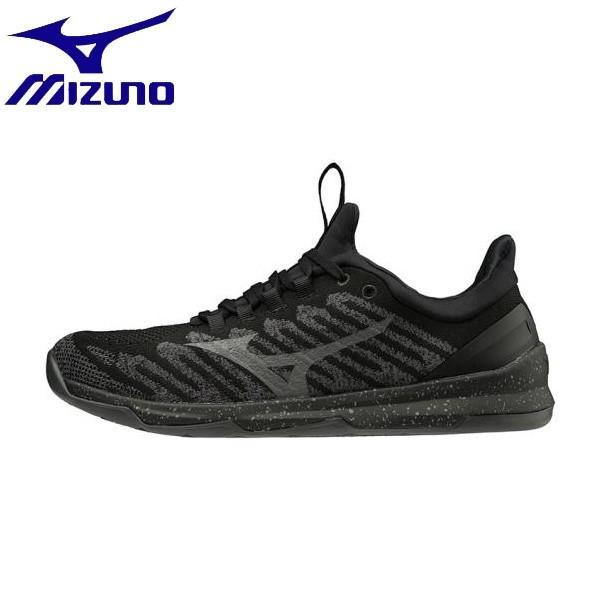 ◆◆ <ミズノ> MIZUNO TC-01[ユニセックス] 31GC1901 (90:ブラック×ダークグレー) フィットネス・トレーニング