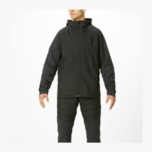 ◆◆ <ミズノ> MIZUNO ブレスウォーマージャケット[メンズ] 32ME9540 (09:ブラック) スポーツウェア