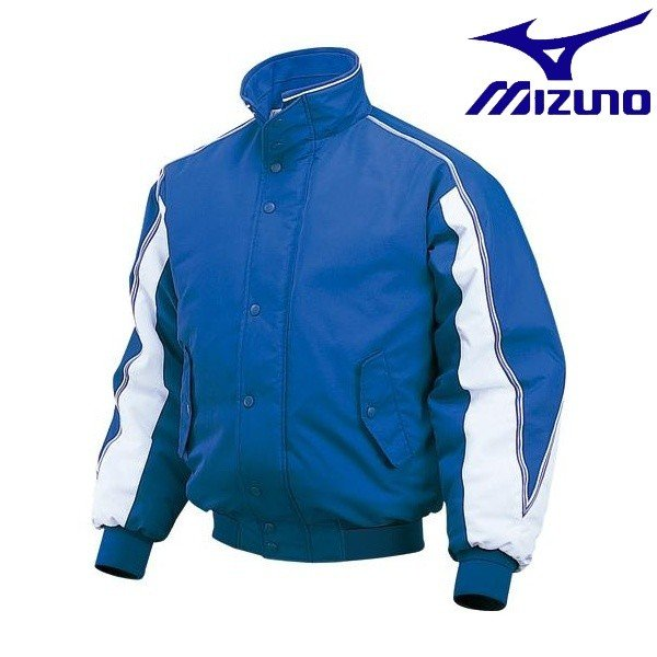 ◆◆ <ミズノ> MIZUNO グラウンドコート 52WM332 (16:パステルネイビー×ホワイト)