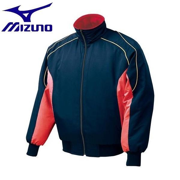 ◆◆ <ミズノ> MIZUNO グラウンドコート(2013世界モデル) 52WM389 (14:ネイビー×レッド)
