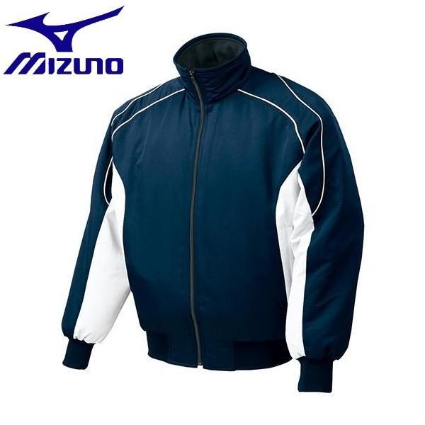 ◆◆ <ミズノ> MIZUNO グラウンドコート(2013世界モデル) 52WM389 (74:ネイビー×ホワイト)