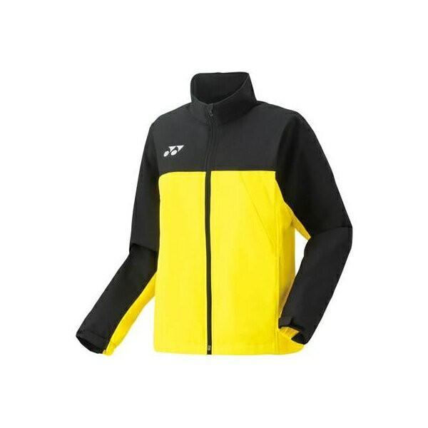 ◆◆ <ヨネックス> YONEX ウィメンズ ウォームアップシャツ 57036 (279:ライトイエロー) テニス(57036-279-ynx1)