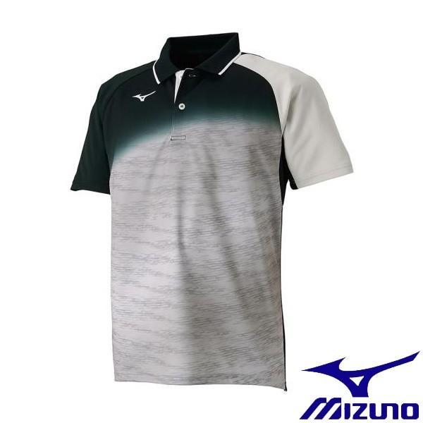 ◆◆送料無料 メール便発送 <ミズノ> MIZUNO ドライサイエンスゲームシャツ(ラケットスポーツ)[メンズ] 62JA8508 (04:ベイパーシルバー)