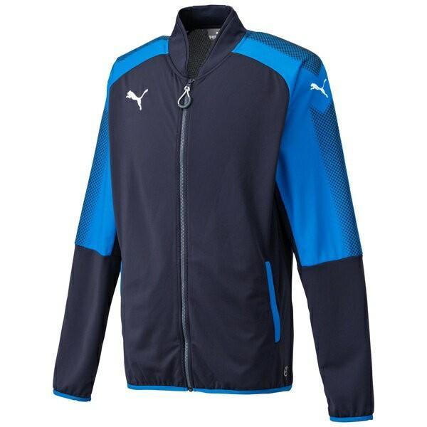 ◆◆ <プーマ> PUMA Ascension トレーニングジャケット(04:ニューネイビー/プーマローヤル) プーマ トレーニングシャツ(655261-04-mkn-pum)