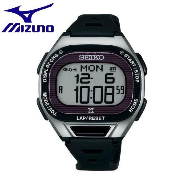 ◆◆ <ミズノ> MIZUNO SEIKO/プロスペック スーパーランナーズソーラー C6JMS81000 (045:シルバーブラック)