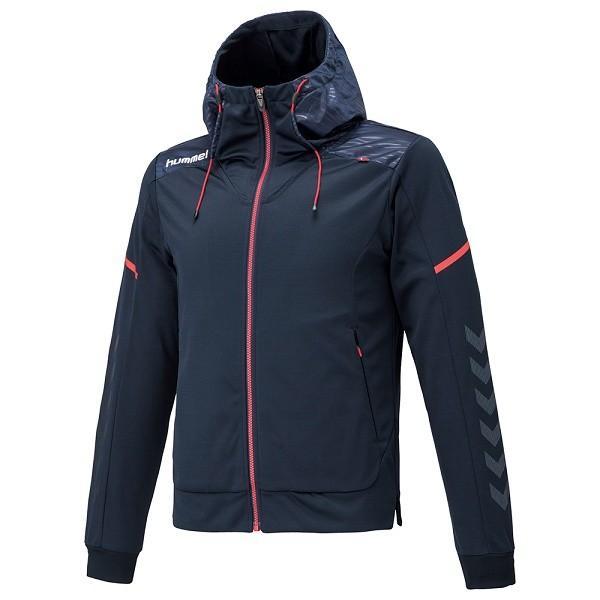 ◆◆ <ヒュンメル> HUMMEL HPFC−スウェットフーデッドジャケット HAP8191 (70:ネイビー)