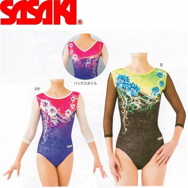 ◆◆ <ササキ> 【SASAKI】ササキ GYMレオタード ジュニアサイズ 体操競技 J-7271G(j7271g-sas1)