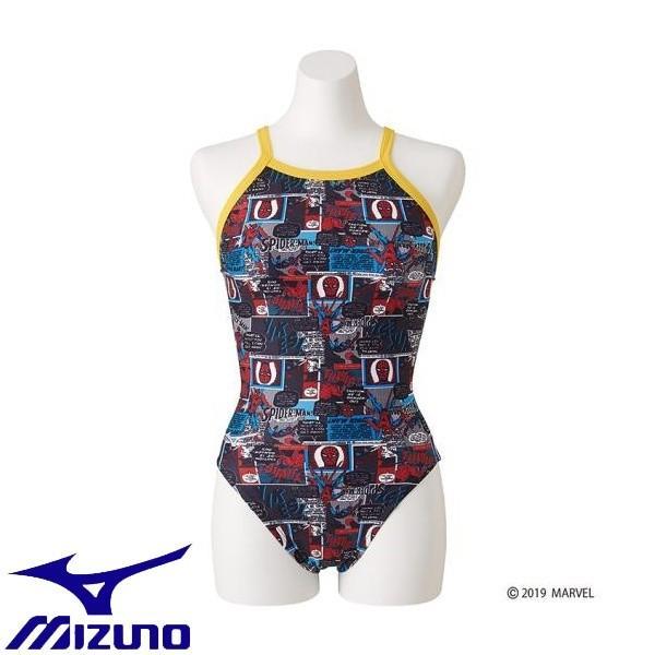 ◆◆ <ミズノ> MIZUNO 競泳練習用【MARVEL】ミディアムカット[レディース] N2MA9292 (09:ブラック)