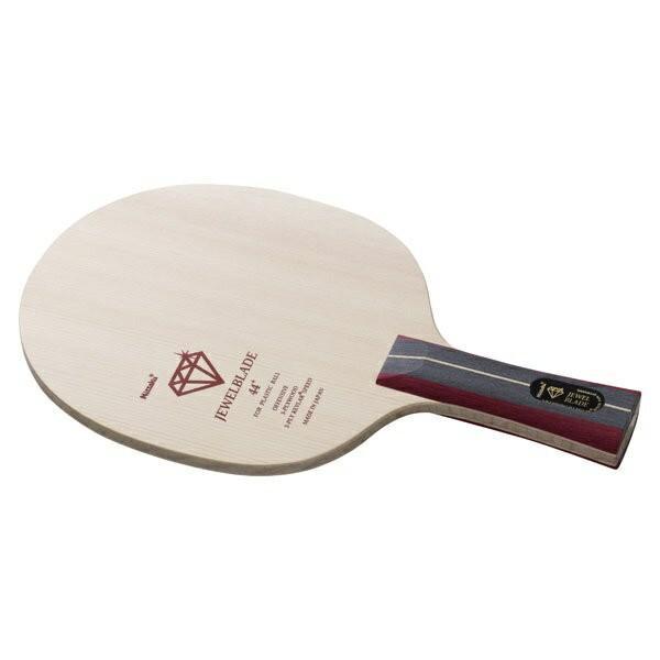 ◆◆○ <ニッタク> Nittaku ジュエルブレードFL NC0389 卓球 ラージ用ラケット シェーク(nc0389-nit1)