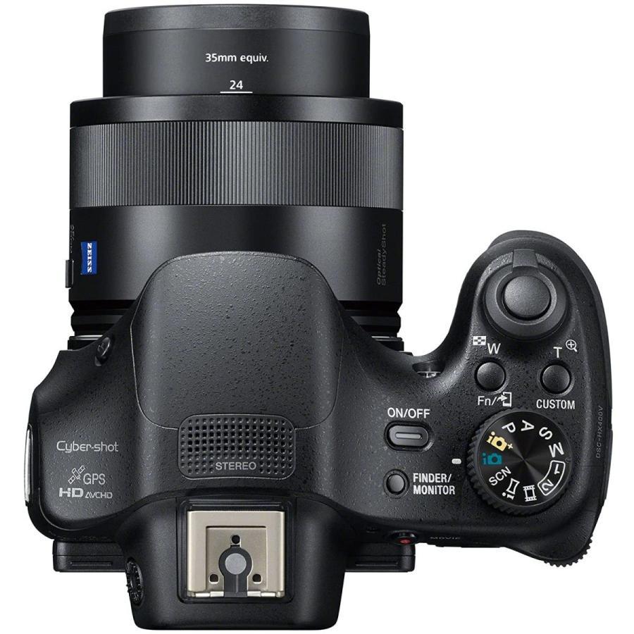 ソニー SONY デジタルカメラ DSC-HX400V 光学50倍ズーム 2040万画素 ブラックCyber-shot DSC-HX400V