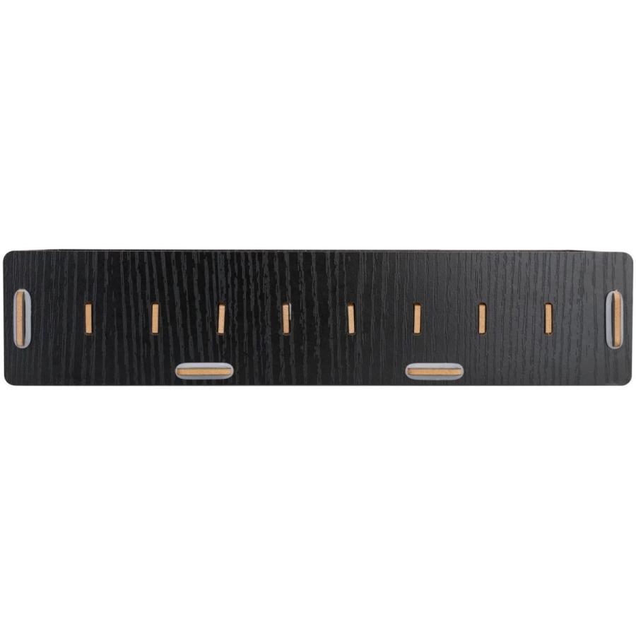 名刺ケース カードケース 8仕切り 木製 卓上収納ラック ロング型 名刺ホルダー めいし 整理箱 オフィス デスクオーガ|urarakastr|07
