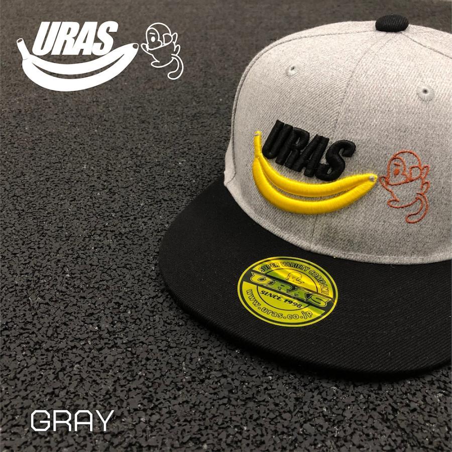 キャップ ストレートキャップ 猿 BBキャップ かわいい スポーティー 刺繍 URAS uras 03