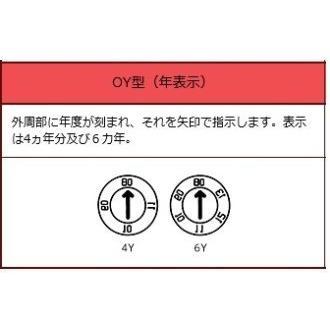 SD型金型デートマーク 外径φ8 4Y型2020年用|uratani-u-world|03