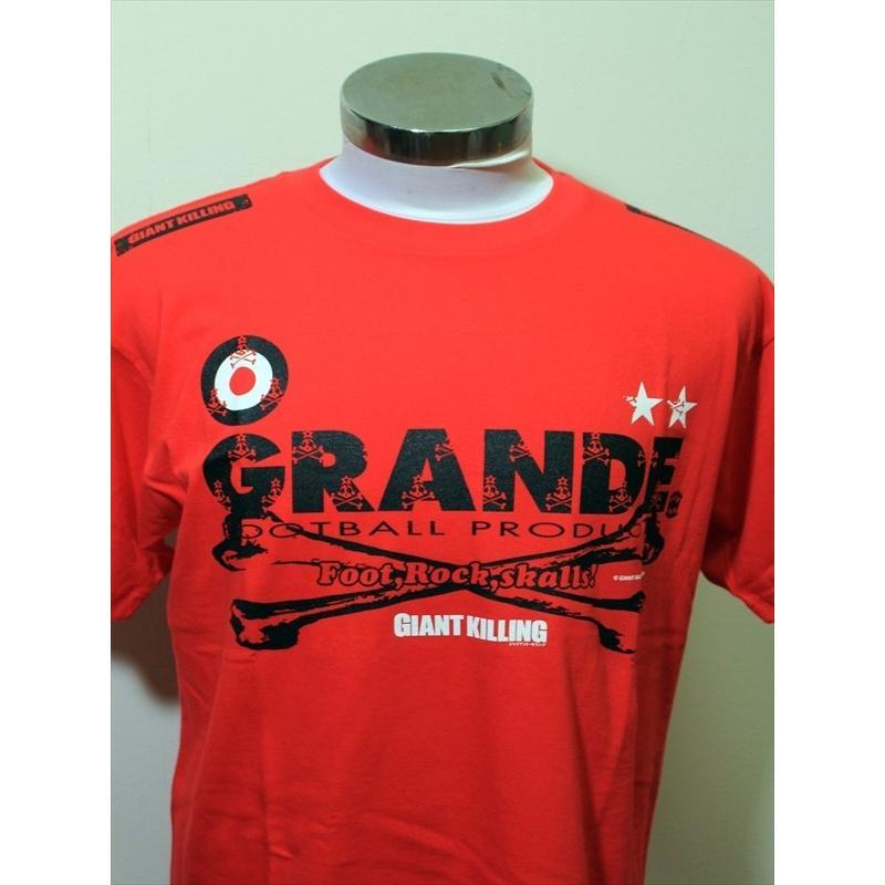 "GIANT KILLING from UNITED SKULLS×GRANDE ""俺たちのクラブ"" T-SHIRTS URAWA.RED urawa-football 05"