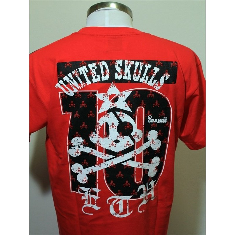 "GIANT KILLING from UNITED SKULLS×GRANDE ""俺たちのクラブ"" T-SHIRTS URAWA.RED urawa-football 06"