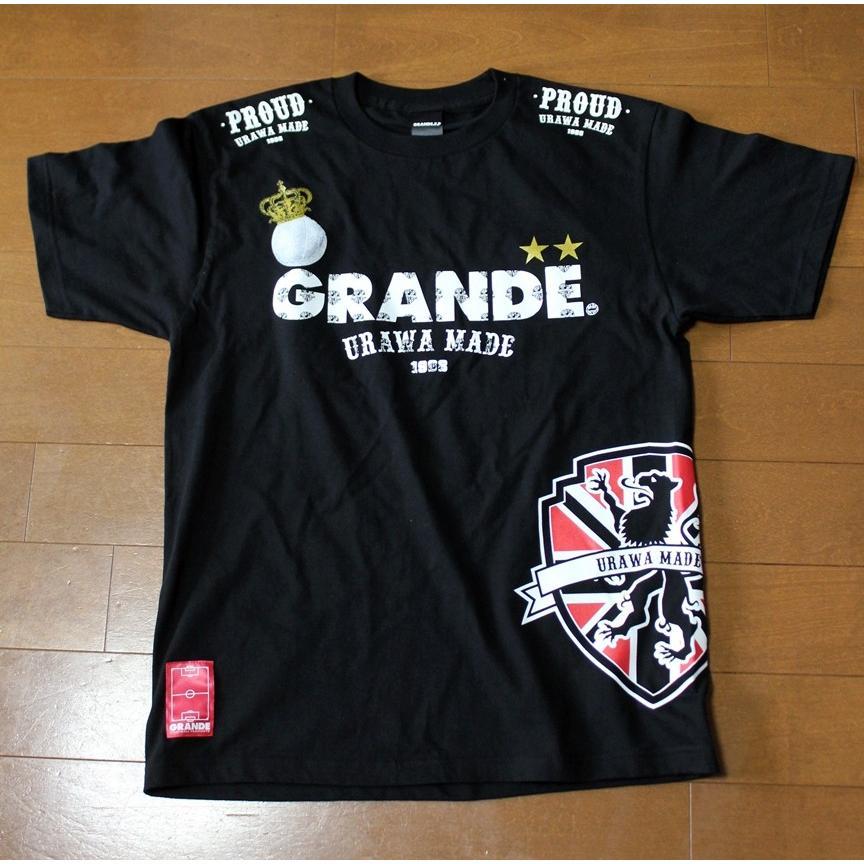 浦和フットボール通信10周年メモリアルver PROUD URAWA MADE×GRANDE T-SHIRTS|urawa-football|02