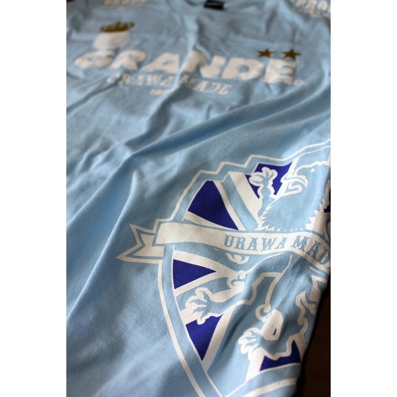 浦和フットボール通信10周年メモリアルver PROUD URAWA MADE×GRANDE T-SHIRTS|urawa-football|03