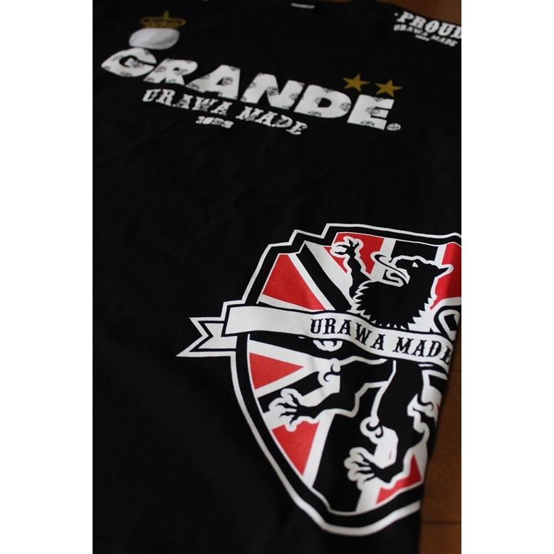 浦和フットボール通信10周年メモリアルver PROUD URAWA MADE×GRANDE T-SHIRTS|urawa-football|04
