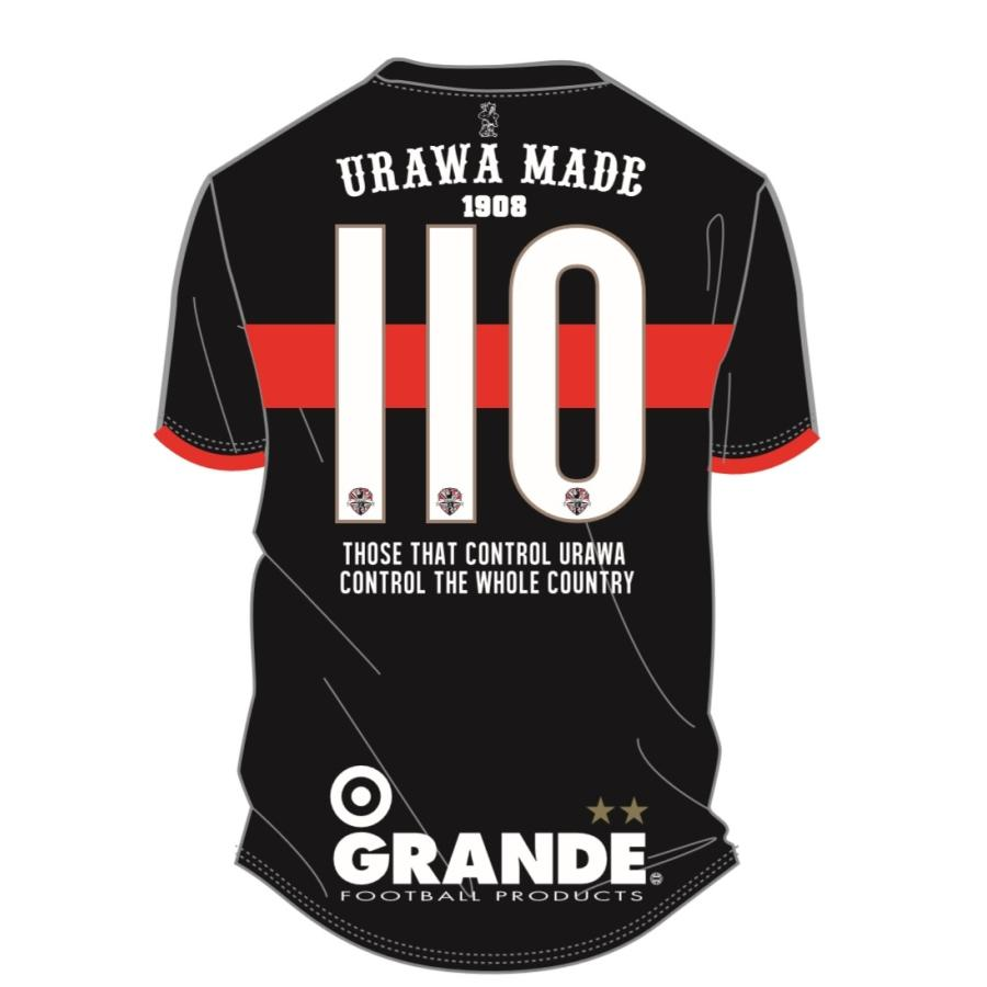 GRANDE×PROUD -URAWA MADE- 埼玉サッカー110th記念オーセンティックユニフォーム urawa-football 10