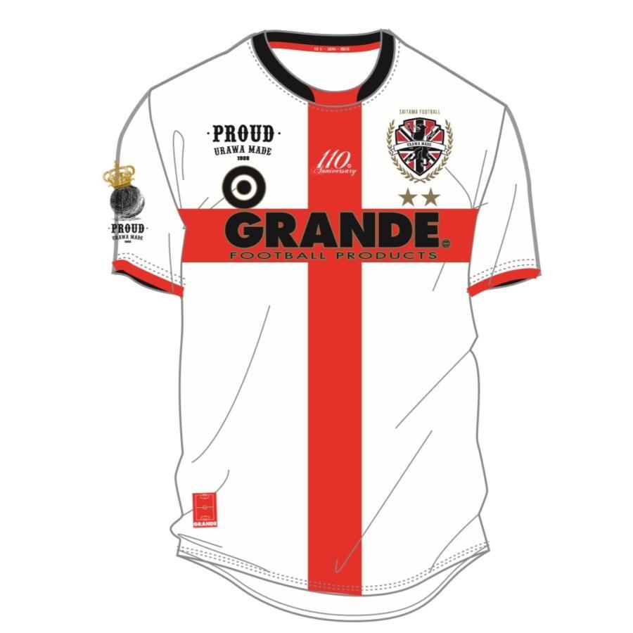 GRANDE×PROUD -URAWA MADE- 埼玉サッカー110th記念オーセンティックユニフォーム urawa-football 11