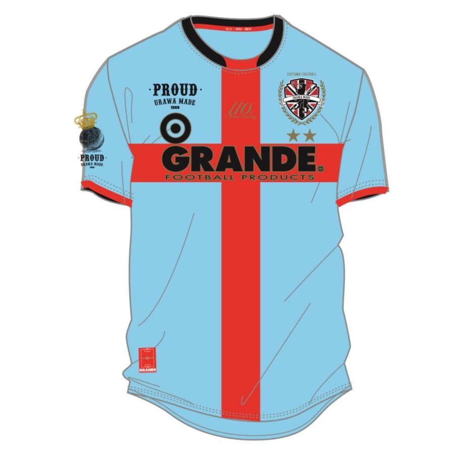 GRANDE×PROUD -URAWA MADE- 埼玉サッカー110th記念オーセンティックユニフォーム urawa-football 13
