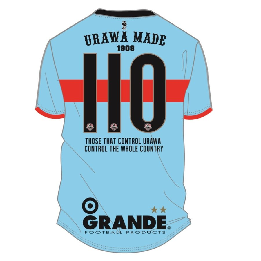 GRANDE×PROUD -URAWA MADE- 埼玉サッカー110th記念オーセンティックユニフォーム urawa-football 14