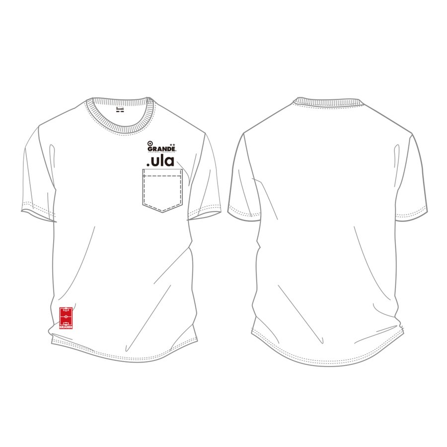 .ula/GRANDE 2020  LIMITED EDITION T-SHIRTS POCKET TYPE Design|urawa-football|02
