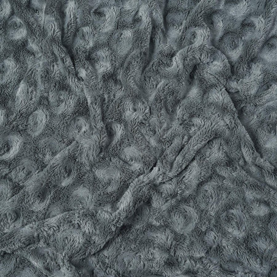 送料無料 毛布 ダブル フェイクファーブランケット エアコン対策 ひざ掛け ふわふわ 柔らかい 肌触りにやさしい マイクロファイバー 130cmx150cm グレー|urazaki2|11