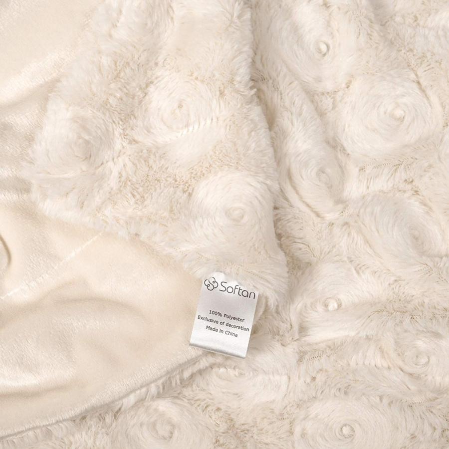 送料無料 毛布 ダブル フェイクファーブランケット エアコン対策 ひざ掛け ふわふわ 柔らかい 肌触りにやさしい マイクロファイバー 130cmx150cm グレー|urazaki2|15