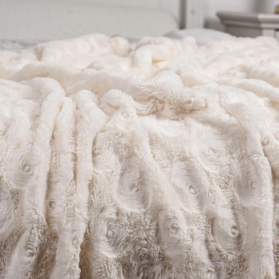 送料無料 毛布 ダブル フェイクファーブランケット エアコン対策 ひざ掛け ふわふわ 柔らかい 肌触りにやさしい マイクロファイバー 130cmx150cm グレー|urazaki2|18