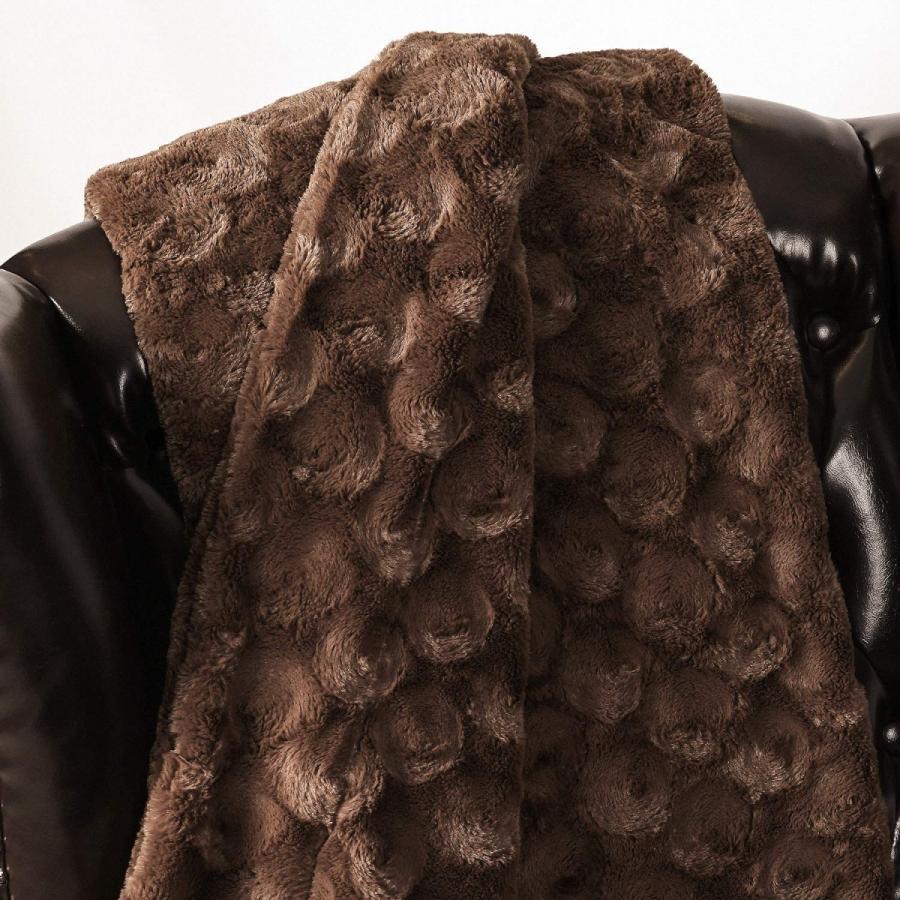 送料無料 毛布 ダブル フェイクファーブランケット エアコン対策 ひざ掛け ふわふわ 柔らかい 肌触りにやさしい マイクロファイバー 130cmx150cm グレー|urazaki2|07