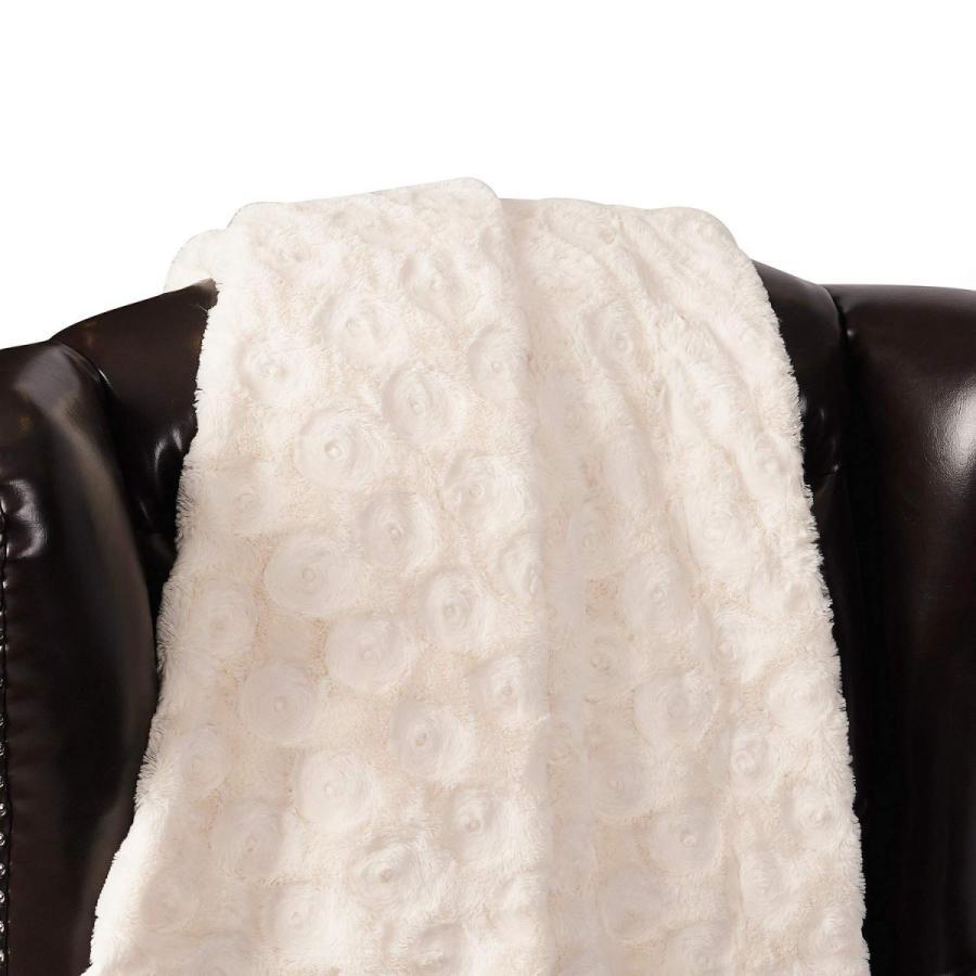 送料無料 毛布 ダブル フェイクファーブランケット エアコン対策 ひざ掛け ふわふわ 柔らかい 肌触りにやさしい マイクロファイバー 130cmx150cm グレー|urazaki2|09