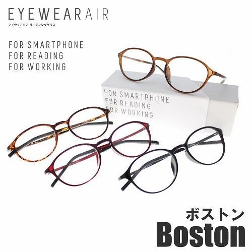 老眼鏡 メンズ ブルーライトカット 2020 おしゃれ 女性用 アイウェアエア ボストン 軽い 当店は最高な サービスを提供します 男性用 リーディンググラス