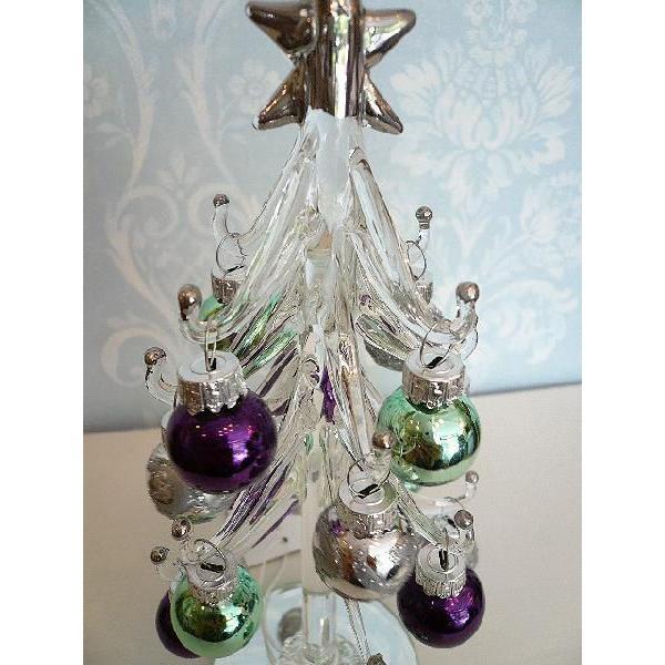 クリアーグラスツリー/パールボールset(クリスマス雑貨・ツリー)|uriel|04
