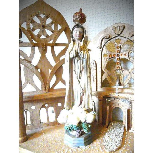 クラウンマリア像/S(置物・宗教雑貨)|uriel