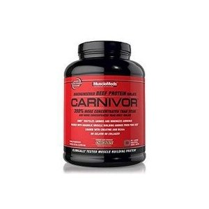 ●MuscleMeds Carnivor Beef Protein Isolate Powder, Chocolate(チョコレート)- 4.5lbs(2038.4g), 56 Servings